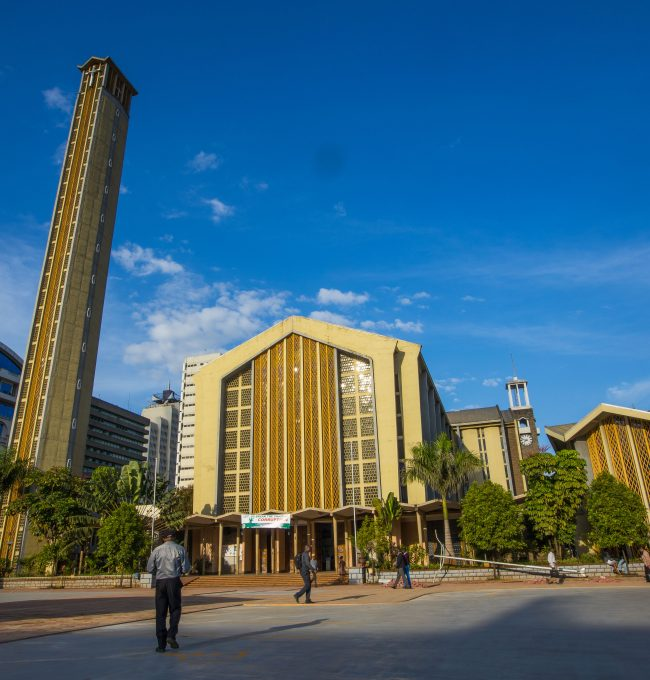 Car Silo at the Holy Family Basilica in Nairobi