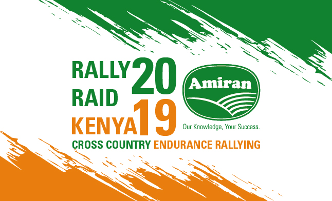 Amiran Kenya announced as title sponsor of the 2019 Kenyan National Rally Raid Championship