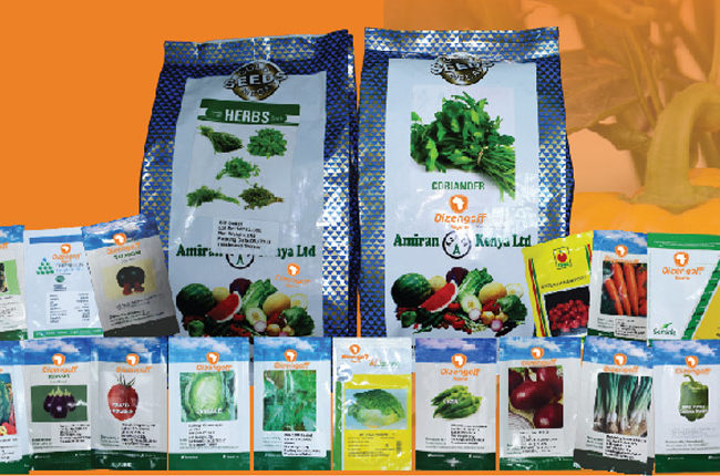 We offer varieties of quality seeds, from leafy to fruits seeds