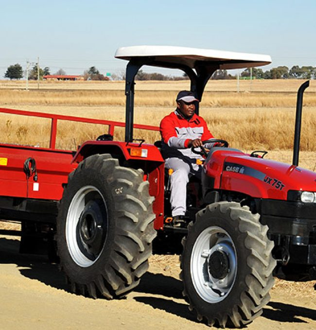 Dizengoff nigeria unveils its new case IH tractor